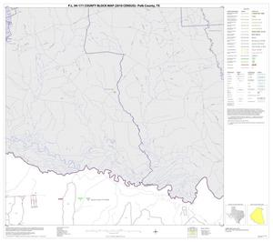 Primary view of object titled 'P.L. 94-171 County Block Map (2010 Census): Polk County, Block 2'.