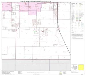 Primary view of object titled 'P.L. 94-171 County Block Map (2010 Census): Lubbock County, Block 14'.