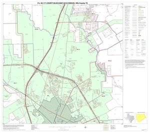 Primary view of object titled 'P.L. 94-171 County Block Map (2010 Census): Ellis County, Block 9'.