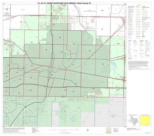 Primary view of object titled 'P.L. 94-171 County Block Map (2010 Census): Potter County, Block 15'.