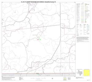 Primary view of object titled 'P.L. 94-171 County Block Map (2010 Census): Shackelford County, Block 8'.