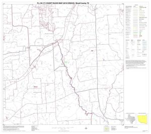Primary view of object titled 'P.L. 94-171 County Block Map (2010 Census): Wood County, Block 8'.