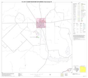 Primary view of object titled 'P.L. 94-171 County Block Map (2010 Census): Knox County, Block 10'.