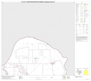 Primary view of object titled 'P.L. 94-171 County Block Map (2010 Census): Montague County, Block 2'.