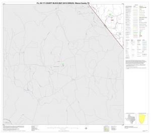 Primary view of object titled 'P.L. 94-171 County Block Map (2010 Census): Blanco County, Block 15'.