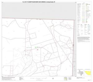 Primary view of object titled 'P.L. 94-171 County Block Map (2010 Census): Loving County, Block 3'.