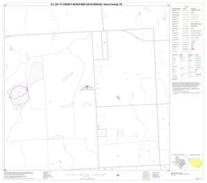 Primary view of object titled 'P.L. 94-171 County Block Map (2010 Census): Harris County, Block 43'.