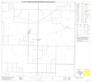 Primary view of object titled 'P.L. 94-171 County Block Map (2010 Census): Sherman County, Block 7'.