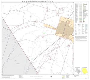 Primary view of object titled 'P.L. 94-171 County Block Map (2010 Census): Erath County, Block 24'.