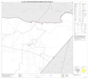 Primary view of object titled 'P.L. 94-171 County Block Map (2010 Census): Reeves County, Block 27'.