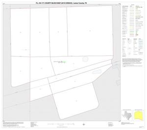 Primary view of object titled 'P.L. 94-171 County Block Map (2010 Census): Lamar County, Inset F01'.