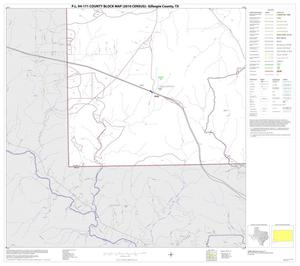 Primary view of object titled 'P.L. 94-171 County Block Map (2010 Census): Gillespie County, Block 19'.