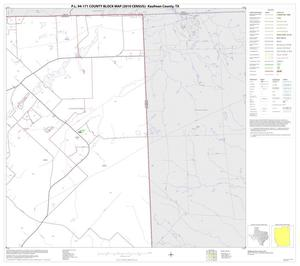 Primary view of object titled 'P.L. 94-171 County Block Map (2010 Census): Kaufman County, Block 5'.