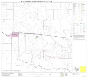 Primary view of object titled 'P.L. 94-171 County Block Map (2010 Census): Dickens County, Block 5'.