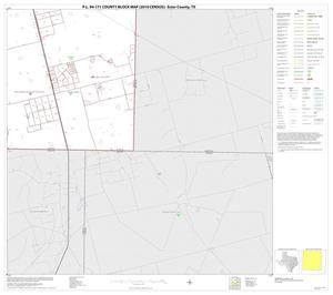 Primary view of object titled 'P.L. 94-171 County Block Map (2010 Census): Ector County, Block 16'.