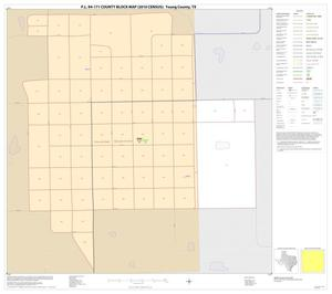 Primary view of object titled 'P.L. 94-171 County Block Map (2010 Census): Young County, Inset B01'.
