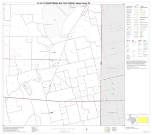 Primary view of object titled 'P.L. 94-171 County Block Map (2010 Census): Gaines County, Block 10'.