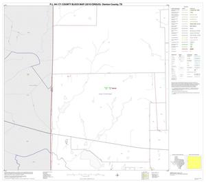 Primary view of object titled 'P.L. 94-171 County Block Map (2010 Census): Denton County, Block 31'.