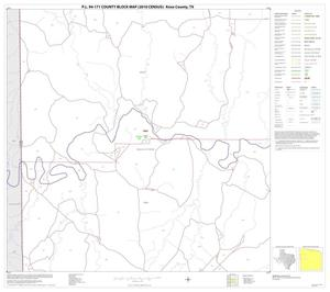 Primary view of object titled 'P.L. 94-171 County Block Map (2010 Census): Knox County, Block 5'.