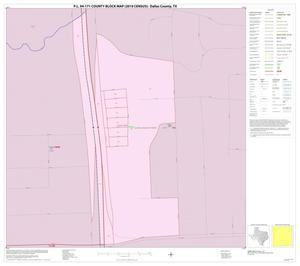 Primary view of object titled 'P.L. 94-171 County Block Map (2010 Census): Dallas County, Inset R01'.