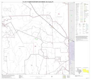 Primary view of object titled 'P.L. 94-171 County Block Map (2010 Census): Kerr County, Block 29'.