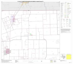 Primary view of object titled 'P.L. 94-171 County Block Map (2010 Census): Haskell County, Block 2'.