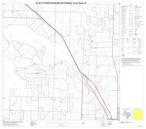 Primary view of object titled 'P.L. 94-171 County Block Map (2010 Census): Scurry County, Block 6'.