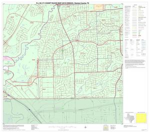 Primary view of object titled 'P.L. 94-171 County Block Map (2010 Census): Denton County, Block 89'.