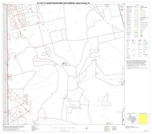 Primary view of object titled 'P.L. 94-171 County Block Map (2010 Census): Upton County, Block 7'.