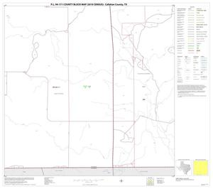 Primary view of object titled 'P.L. 94-171 County Block Map (2010 Census): Callahan County, Block 14'.