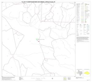 Primary view of object titled 'P.L. 94-171 County Block Map (2010 Census): Jeff Davis County, Block 10'.