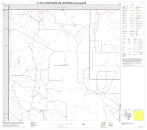 Primary view of object titled 'P.L. 94-171 County Block Map (2010 Census): King County, Block 1'.