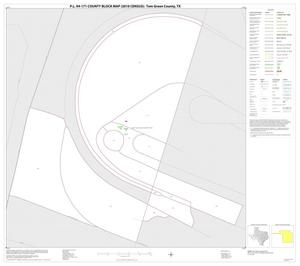 Primary view of object titled 'P.L. 94-171 County Block Map (2010 Census): Tom Green County, Inset C01'.
