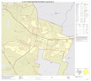 Primary view of object titled 'P.L. 94-171 County Block Map (2010 Census): Coryell County, Inset G01'.