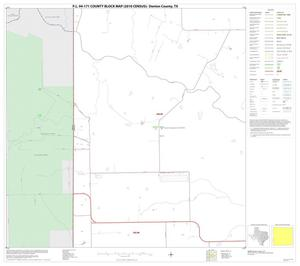 Primary view of object titled 'P.L. 94-171 County Block Map (2010 Census): Denton County, Block 61'.
