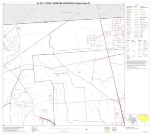Primary view of object titled 'P.L. 94-171 County Block Map (2010 Census): Orange County, Block 5'.