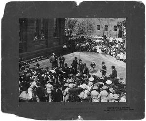 Primary view of object titled '[President Theodore Roosevelt's visit to Fort Worth]'.