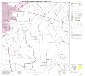 Primary view of object titled 'P.L. 94-171 County Block Map (2010 Census): Matagorda County, Block 10'.
