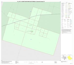 Primary view of object titled 'P.L. 94-171 County Block Map (2010 Census): Comanche County, Inset D01'.