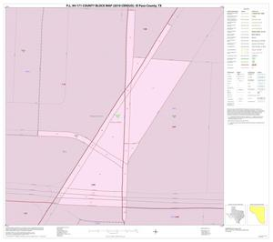 Primary view of object titled 'P.L. 94-171 County Block Map (2010 Census): El Paso County, Inset D01'.