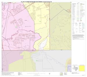 Primary view of object titled 'P.L. 94-171 County Block Map (2010 Census): Tarrant County, Block 64'.