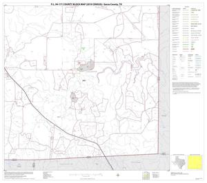Primary view of object titled 'P.L. 94-171 County Block Map (2010 Census): Garza County, Block 9'.
