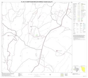 Primary view of object titled 'P.L. 94-171 County Block Map (2010 Census): Presidio County, Block 42'.