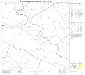Primary view of object titled 'P.L. 94-171 County Block Map (2010 Census): Hamilton County, Block 10'.