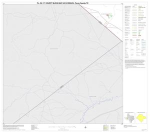 Primary view of object titled 'P.L. 94-171 County Block Map (2010 Census): Pecos County, Block 46'.