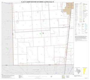 Primary view of object titled 'P.L. 94-171 County Block Map (2010 Census): Jim Wells County, Block 18'.