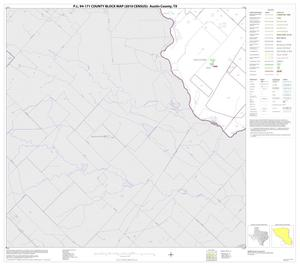 Primary view of object titled 'P.L. 94-171 County Block Map (2010 Census): Austin County, Block 15'.