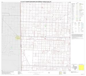 Primary view of object titled 'P.L. 94-171 County Block Map (2010 Census): Hockley County, Block 4'.