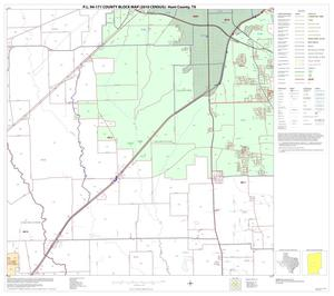 Primary view of object titled 'P.L. 94-171 County Block Map (2010 Census): Hunt County, Block 14'.