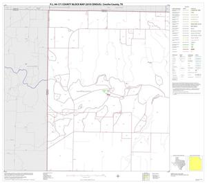 Primary view of object titled 'P.L. 94-171 County Block Map (2010 Census): Concho County, Block 1'.
